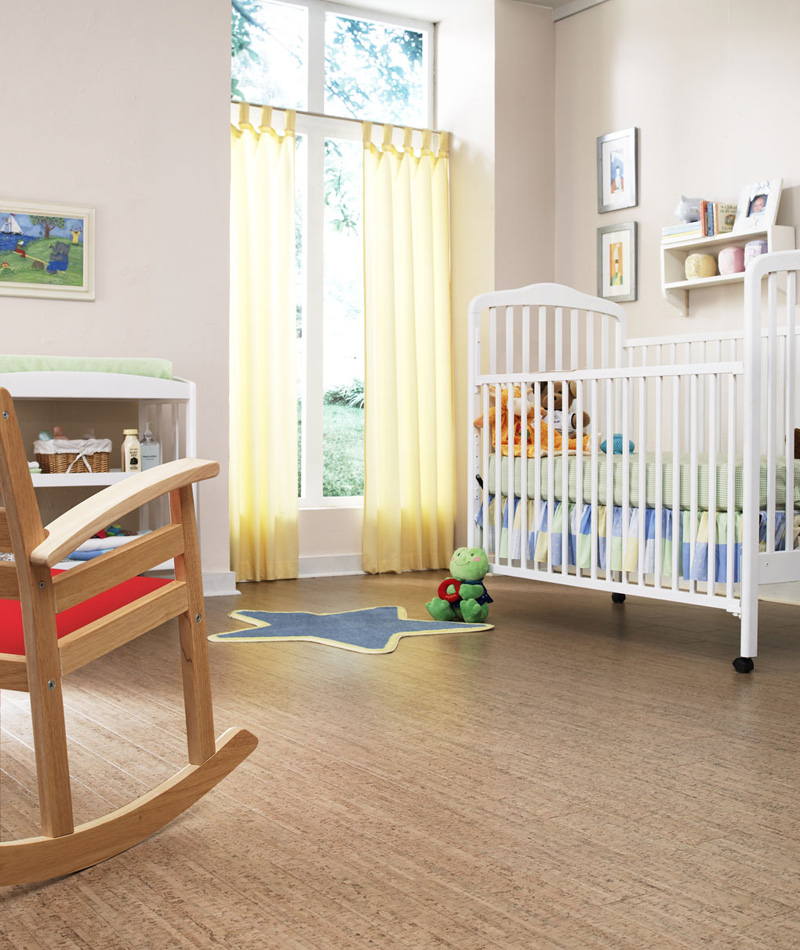 Stylish-child-room-with-cork-flooring