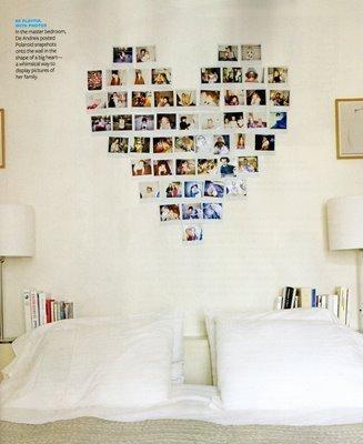 Декор фотографий на стене своими руками