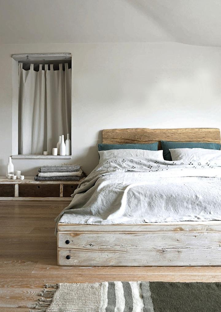 raw wood2 bed elle deco