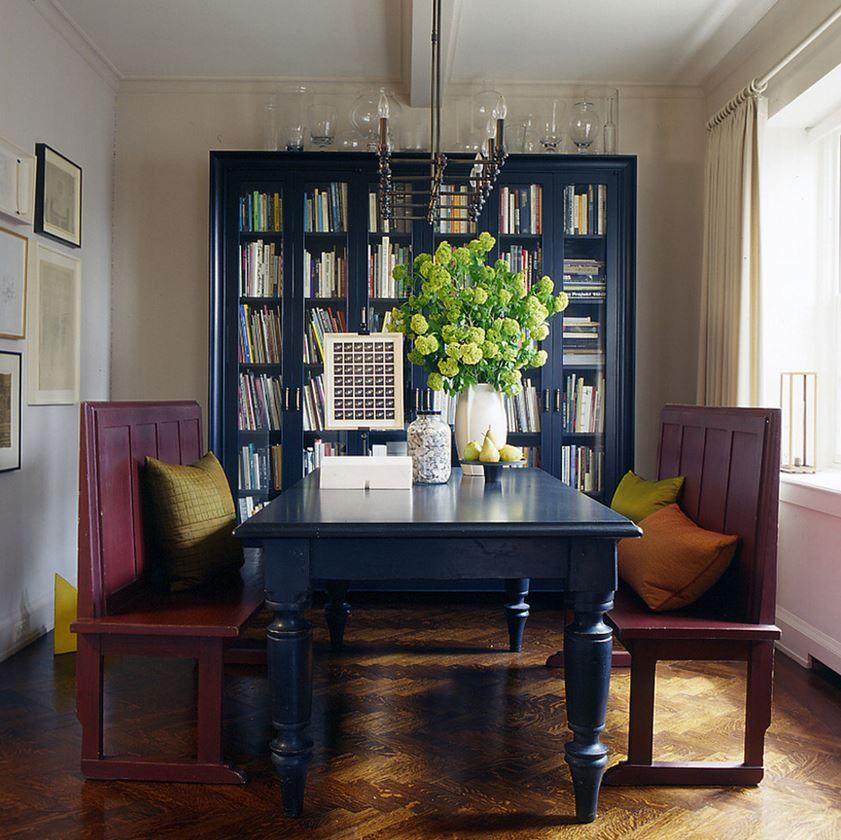 ОригинальнаЯ мебель книжный шкаф со стеклянными дверцами кот.