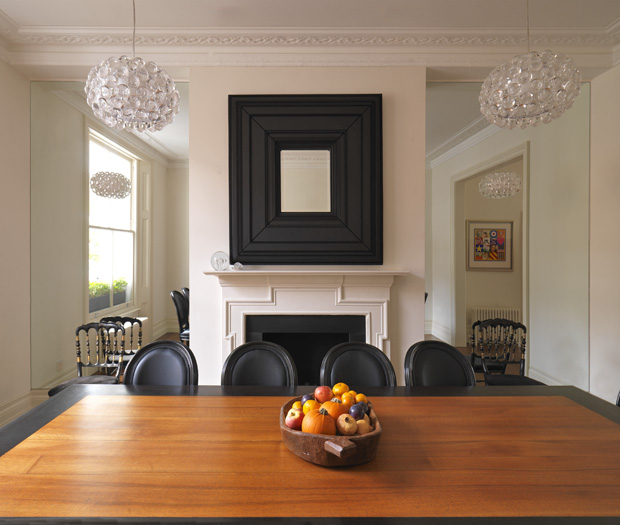 Photographs by Adam Butler of House in Chelsea, London