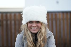 Faux Fur Winter Hat DIY 2