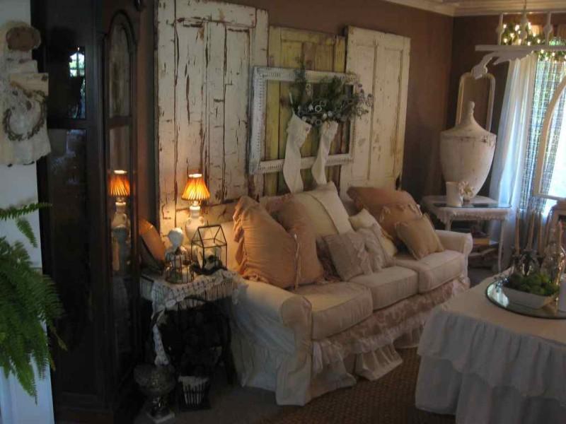 Living-Room-Using-Shabby-Chic