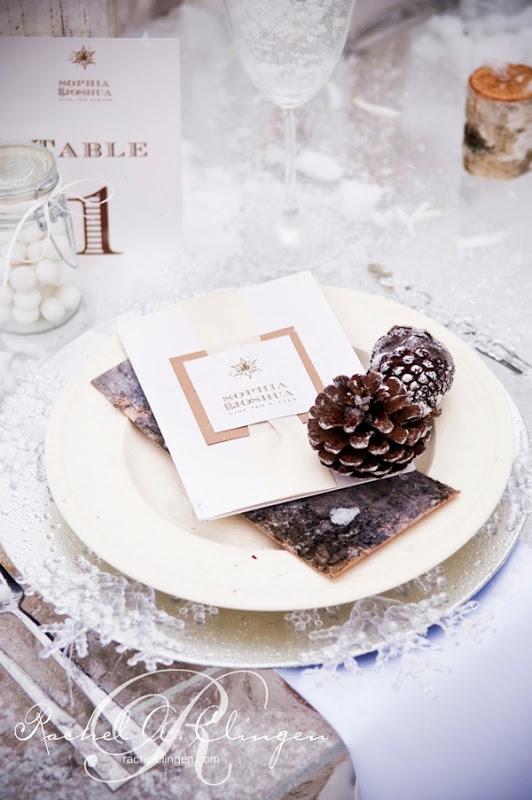Winter Wedding Invitations Toronto Muskoka