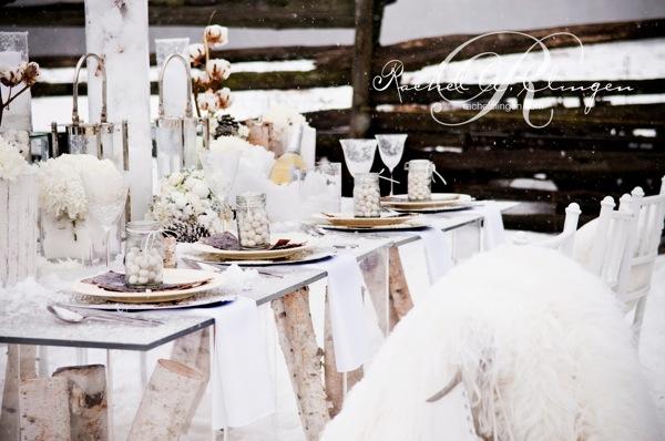 Winter Weddings Headtable Decor Flowers Toronto