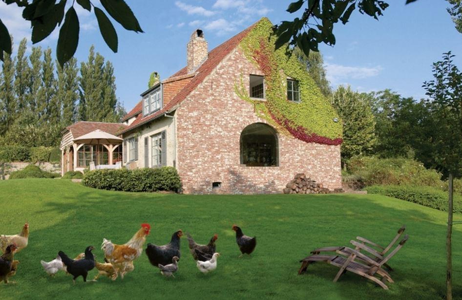 Красивые фермерские дома фото