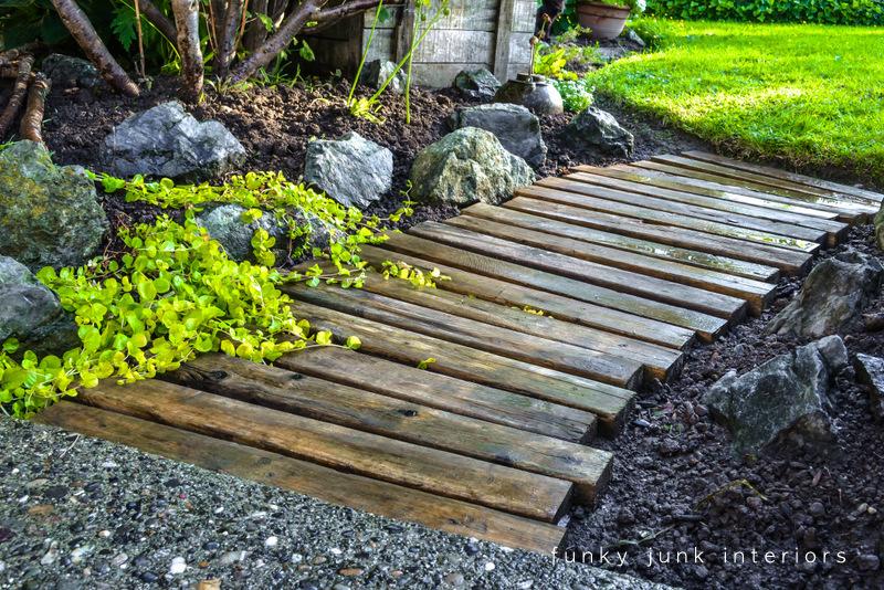 13-pallet wood garden walkway Funky Junk Interiors-2-17
