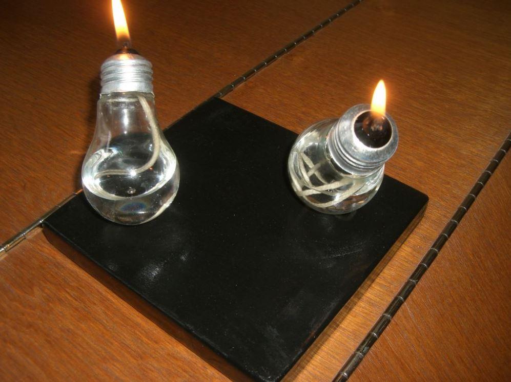 Сделать керосиновую лампу своими руками 674
