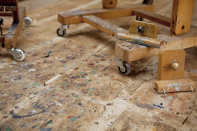 Ruben Ortiz atelier Costa Brava 31