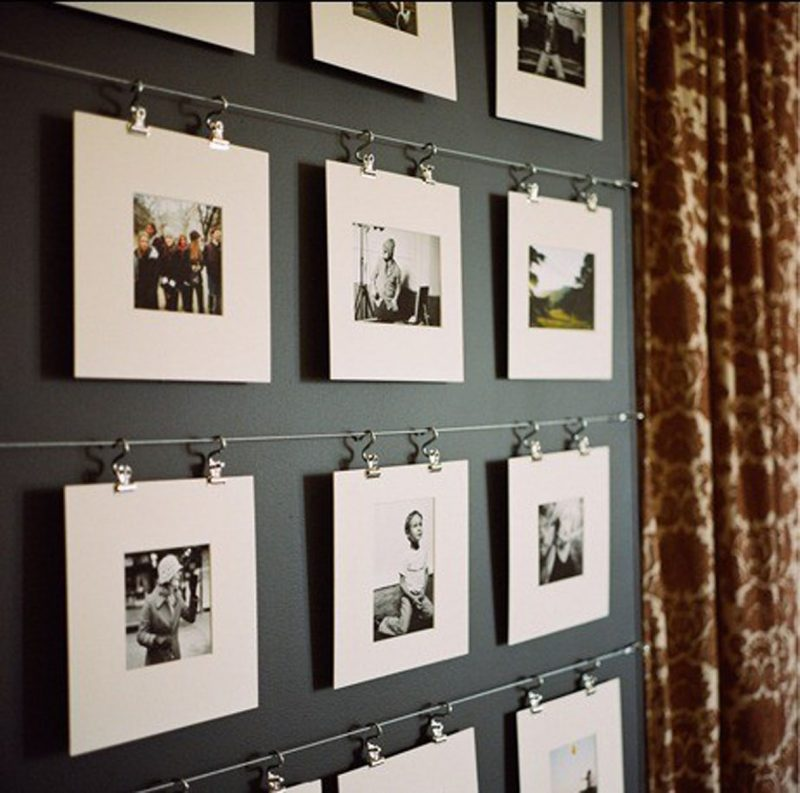 how to display photos
