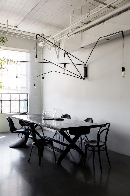 A Noirish office in San Francisco