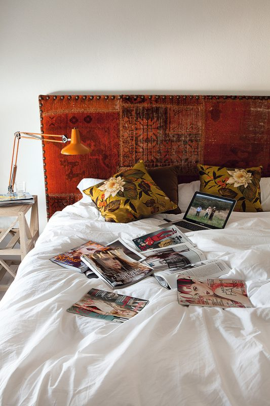 At home with Spanish model Eugenia Silva