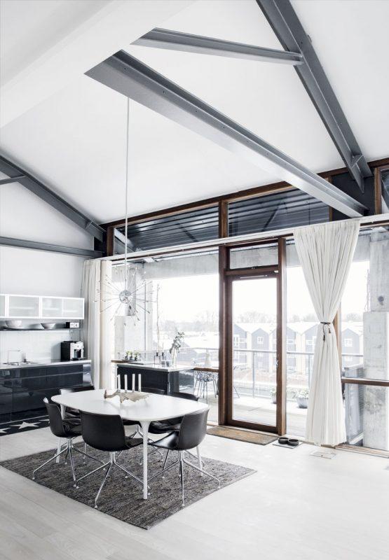 Modern apartment in Holmen