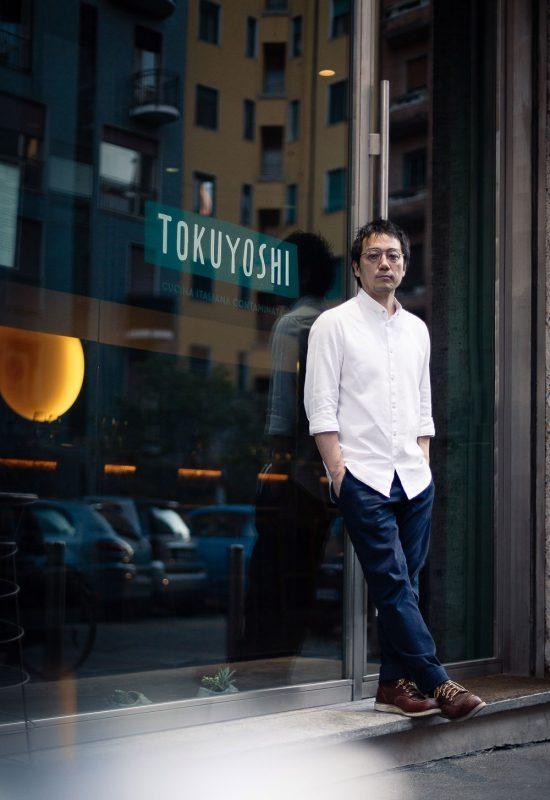 Tokuyoshi restaurant in Milano. Experience in Contaminated Italian cuisine