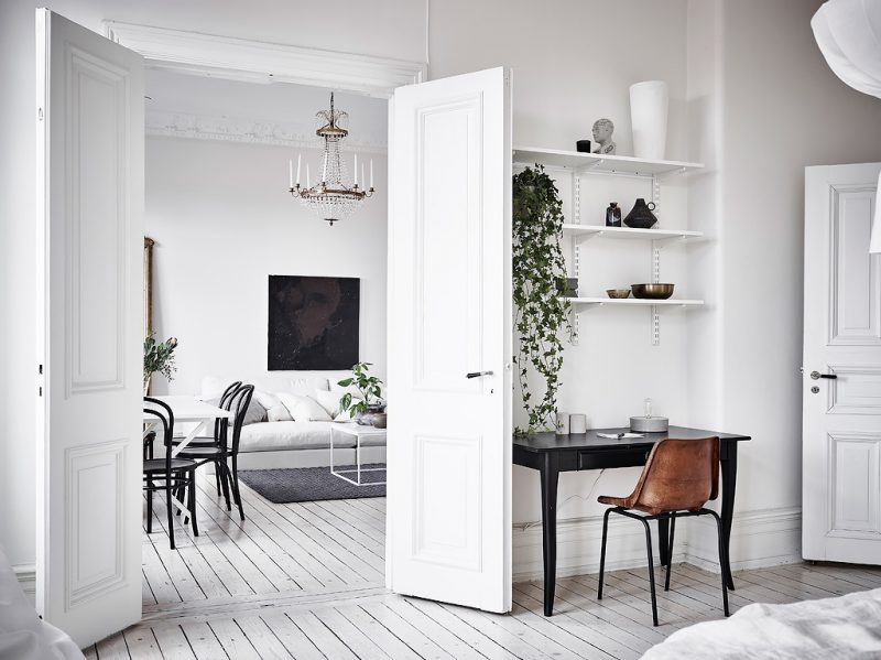 Gothenburg apartment in historical house