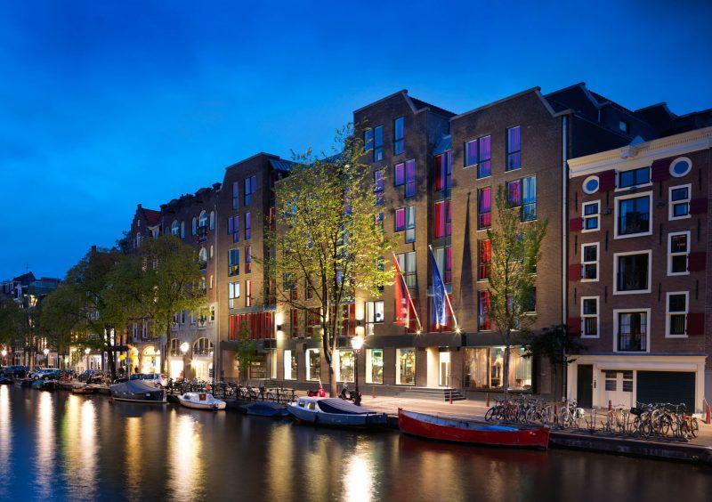 andaz_amsterdam_Exterior - Evening