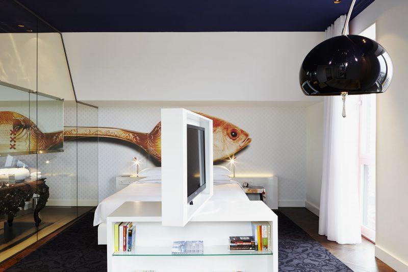 Andaz_Prinsengracht_Prinsengracht Suite_Bedroom