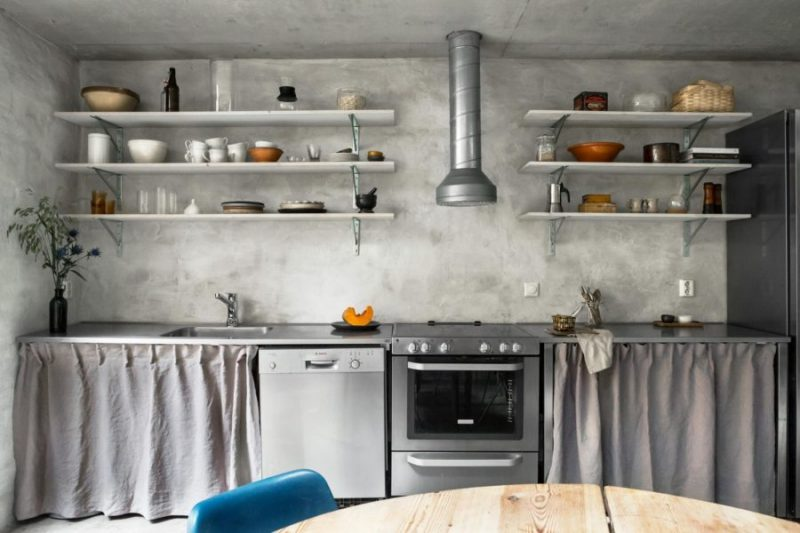 Spartan chic apartment in Stockholm-8